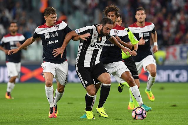 Prediksi Pertandingan Serie A Italia giornata ke-20 : Cagliari vs Juventus