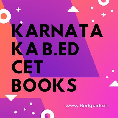 Karnataka B.ed CET Books Pdf Free Download 2019