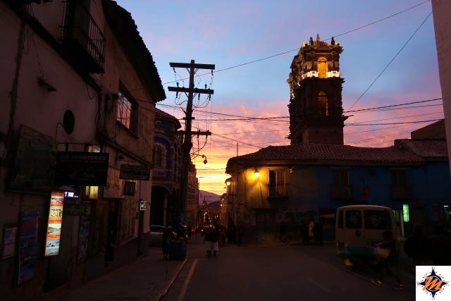 Potosí, tramonto