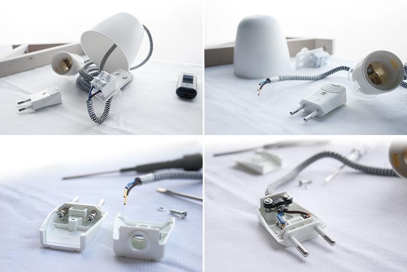 Reciclando con Ikea: Diy lámpara con botella de cristal7