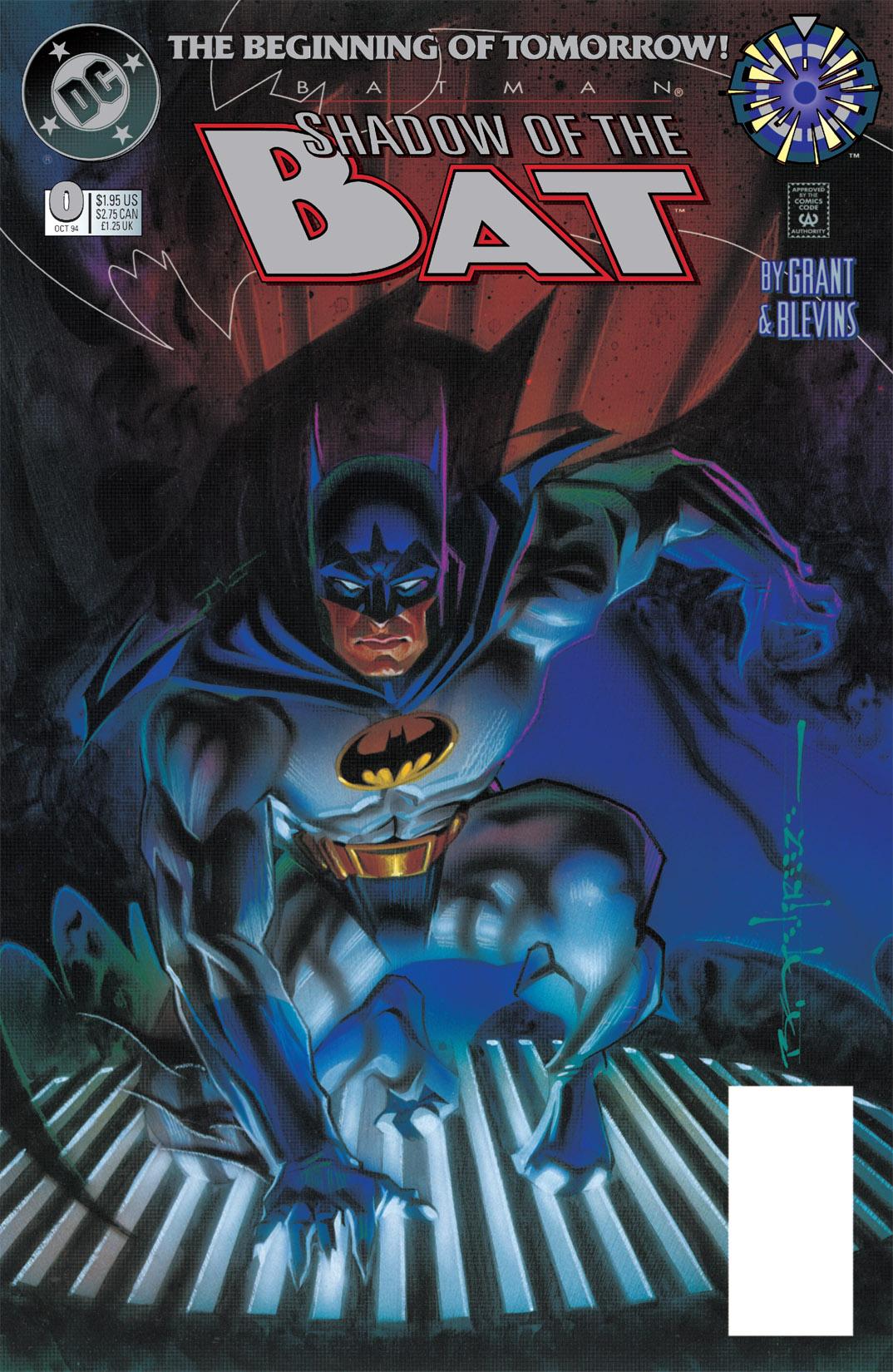 Batman: Shadow of the Bat 0 Page 1