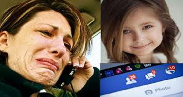 هذه السيدة فقدت طفلتها الوحيدة بسبب خطا اقترفته على الفيس بوك