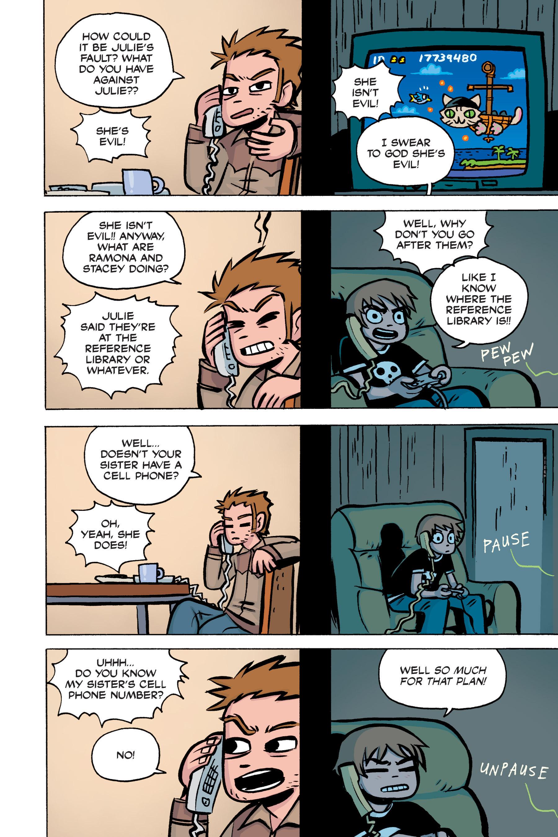 Read online Scott Pilgrim comic -  Issue #2 - 129