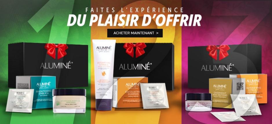 Les coffrest de Noël Aluminé®
