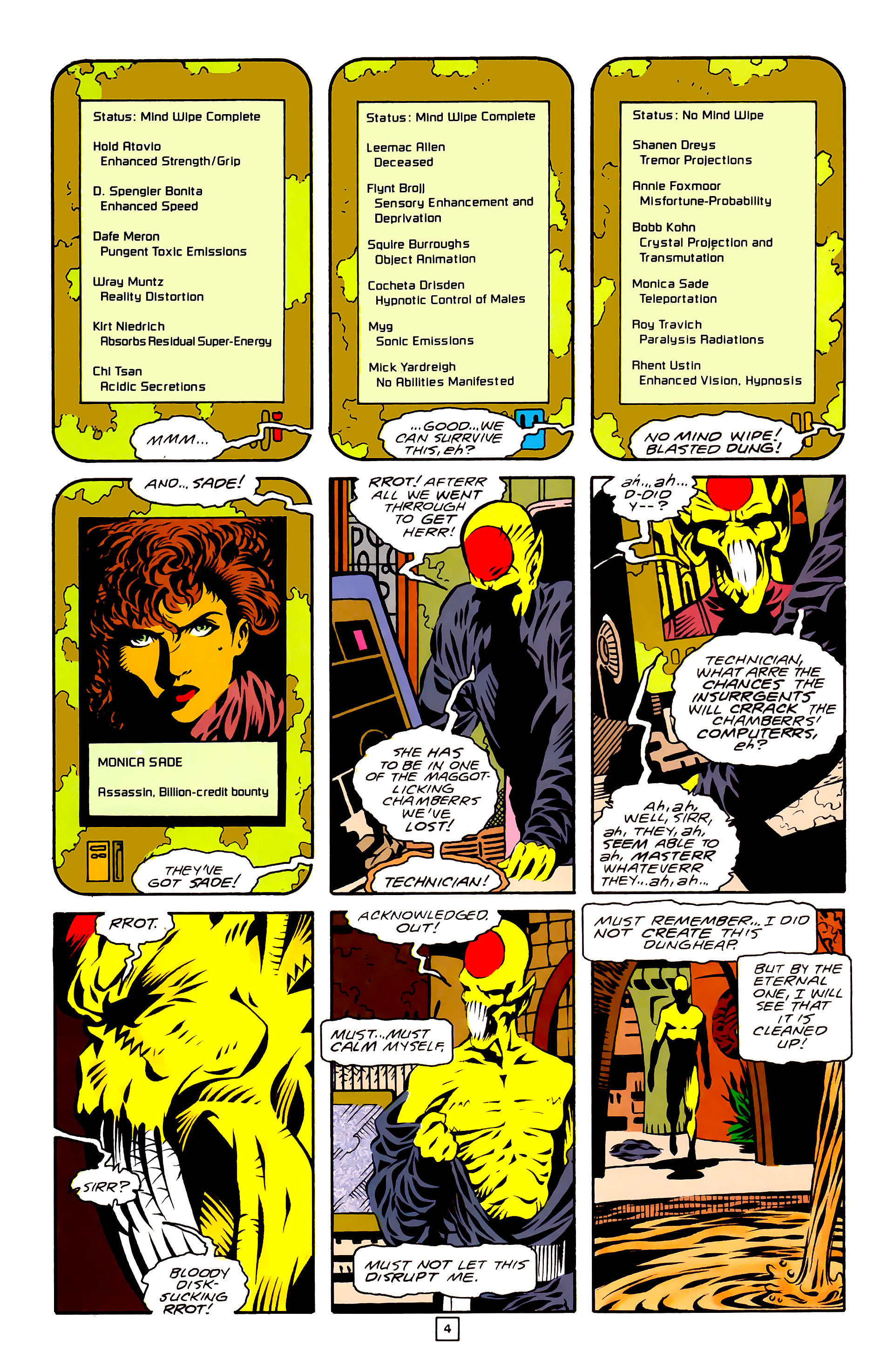 Legion of Super-Heroes (1989) 27 Page 4