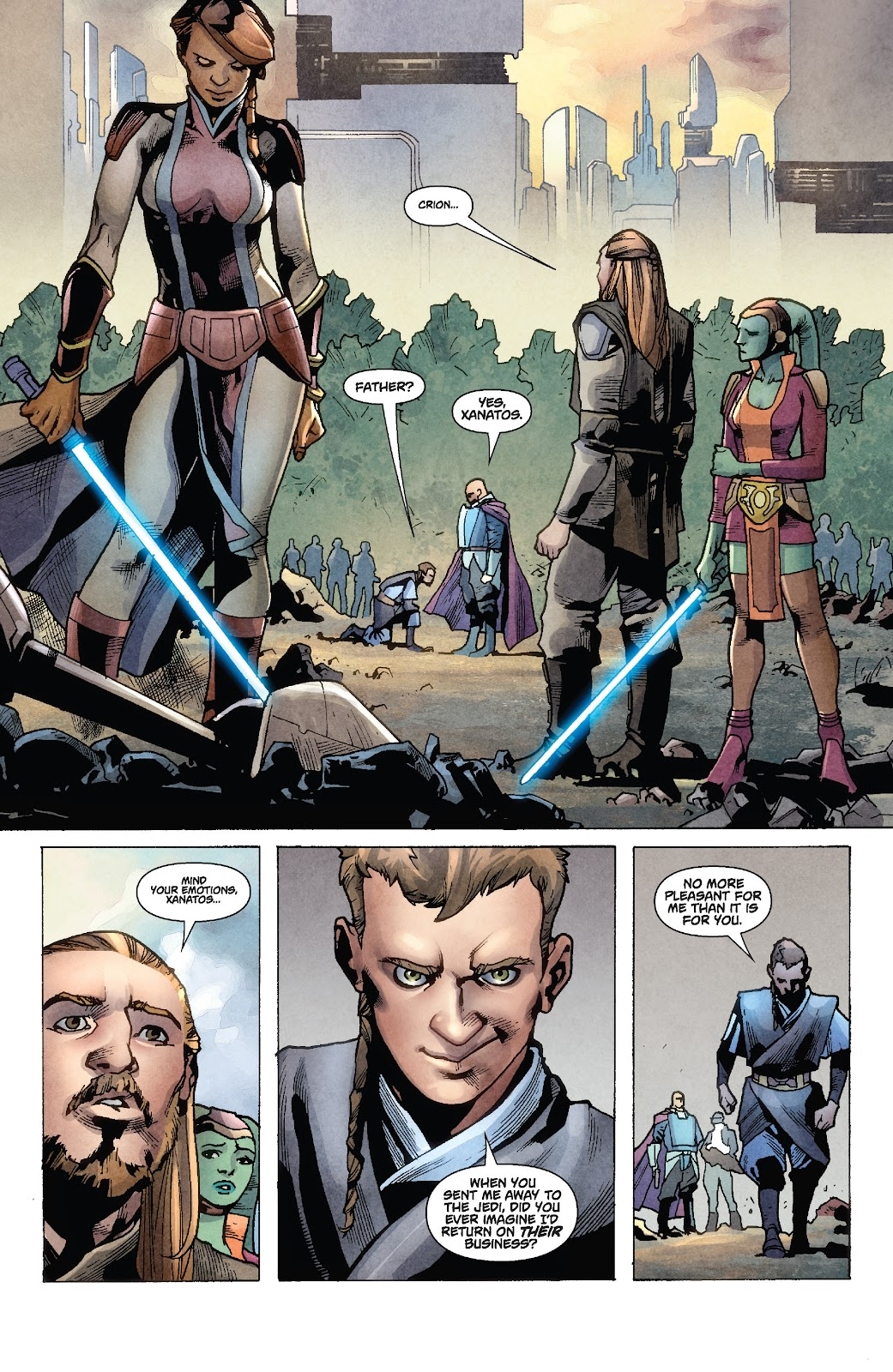 Read online Star Wars Legends: Rise of the Sith - Epic Collection comic -  Issue # TPB 1 (Part 2) - 8
