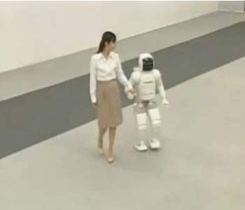 new version amazing robot asimo