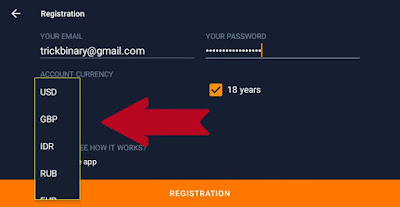 how to register iq option
