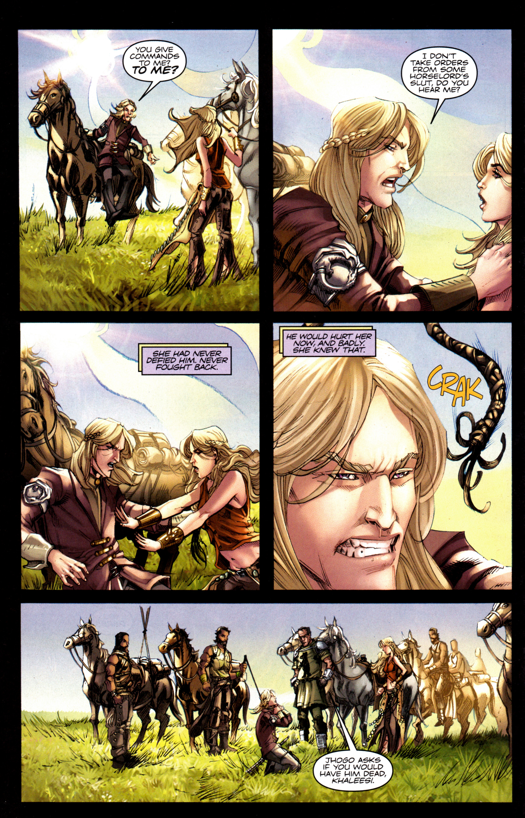 Read online A Game Of Thrones comic -  Issue #6 - 24