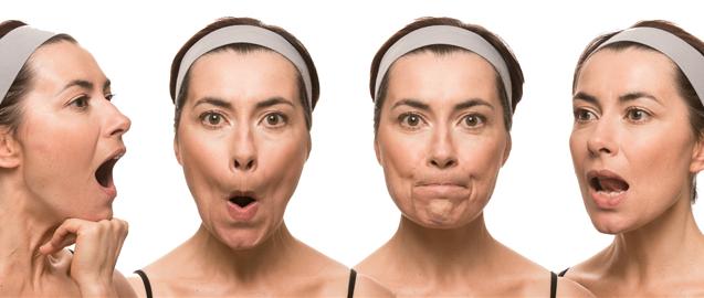 Image result for senaman wajah