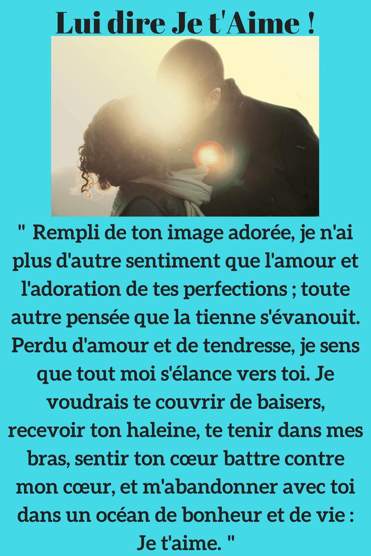 Phrase Pour Dire Je T Aime : phrase, D'Amour, Touchants, T'aime, D'amour, Messages, Drôles