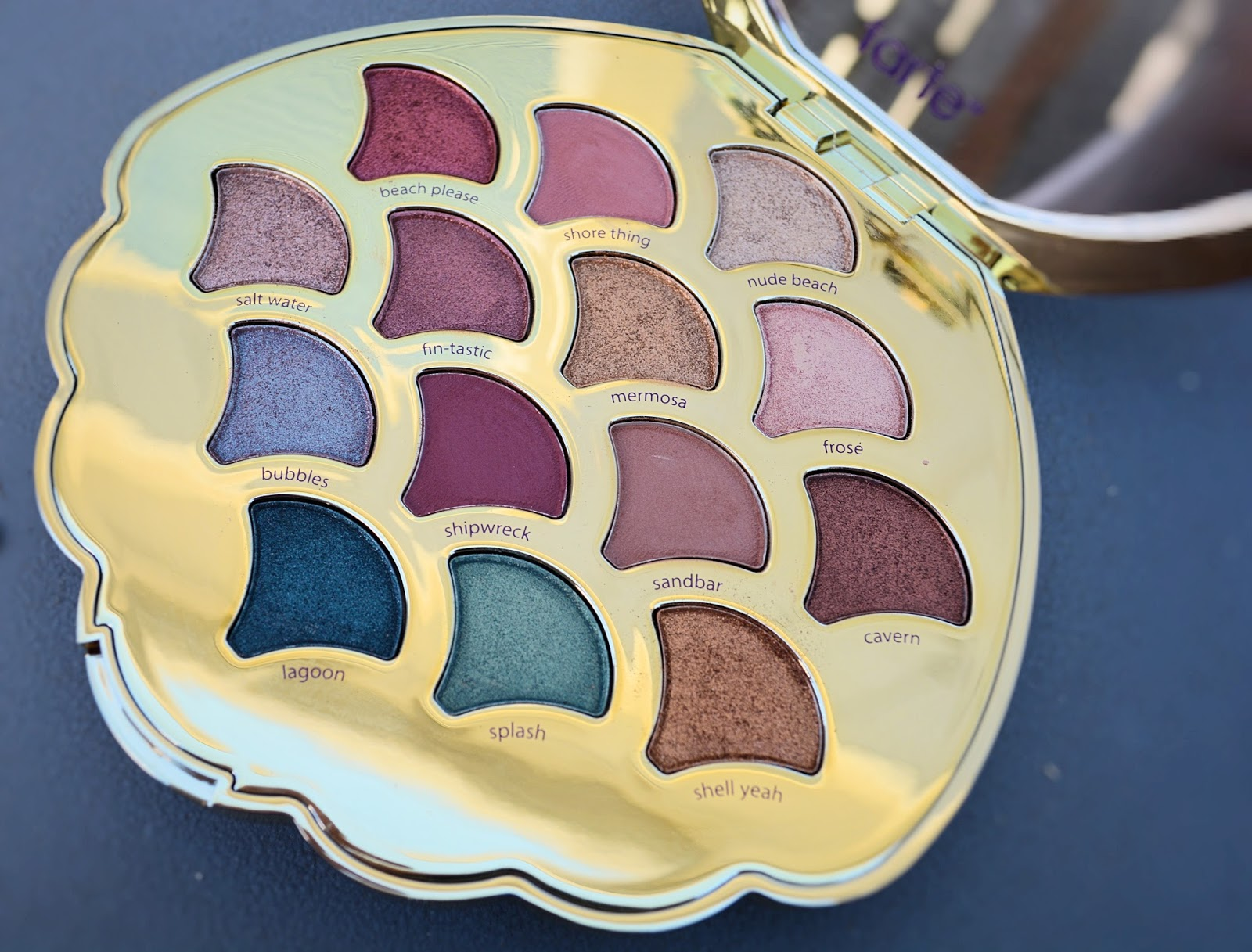 Tarte Be a Mermaid & Make Waves Palette Swatches and Review ...