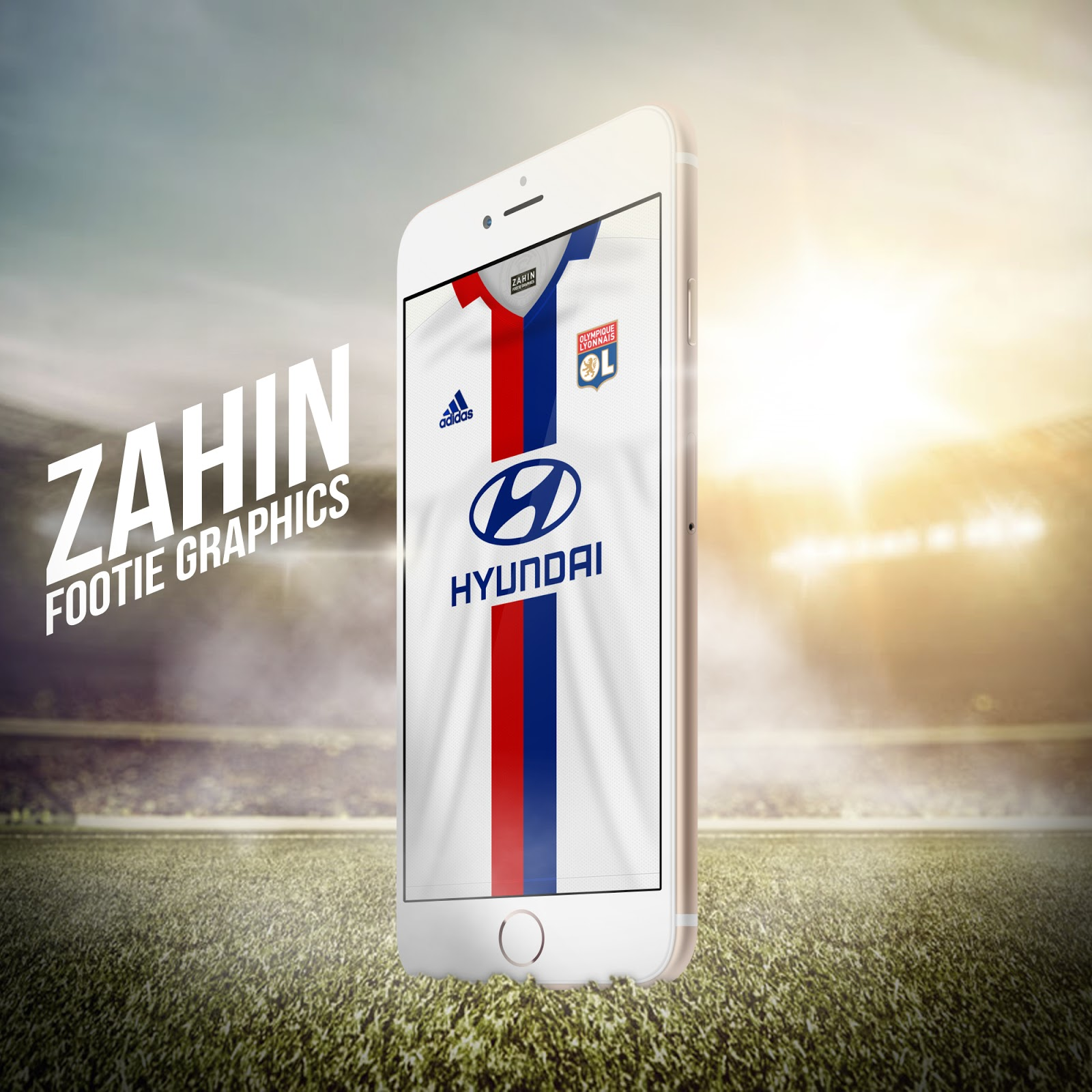 Olympique lyonnais 2016 17 zahin footie graphics for Terengganu home wallpaper 2016