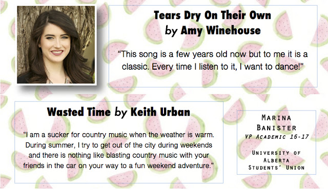 Tears Dry on Their Own by Amy Winehouse; Wasted Time by Keith Urban - Summer Song Picks