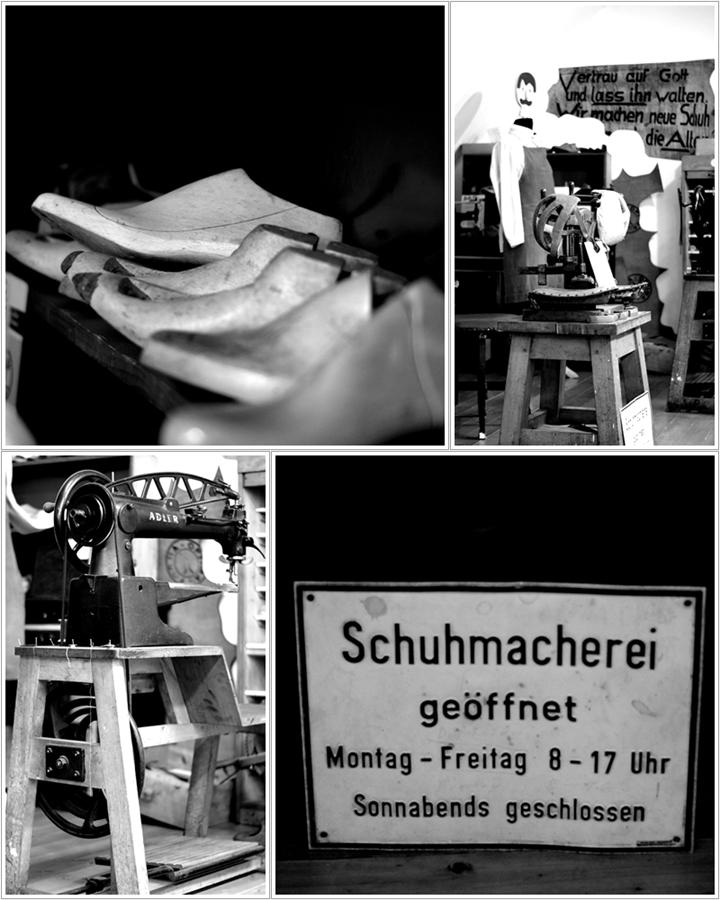 Blog + Fotografie | fim.works | Nachtansichten Bielefeld | Anstalt Bethel | Ausstellung BroSa | Collage Schuhmacherei