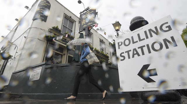 Voting Referendum Uni Eropa Resmi Ditutup
