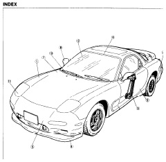 repair-manuals: Mazda RX-7 FD 1993 Repair Manual