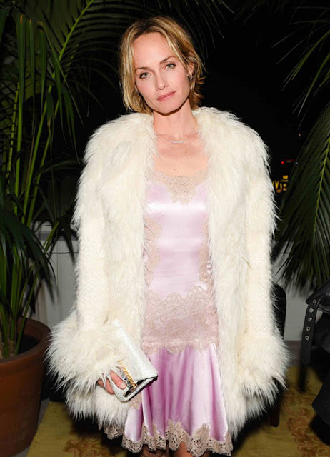 pajama trend, slip dress, spring 2016 trends, amber valetta, faux fur coat