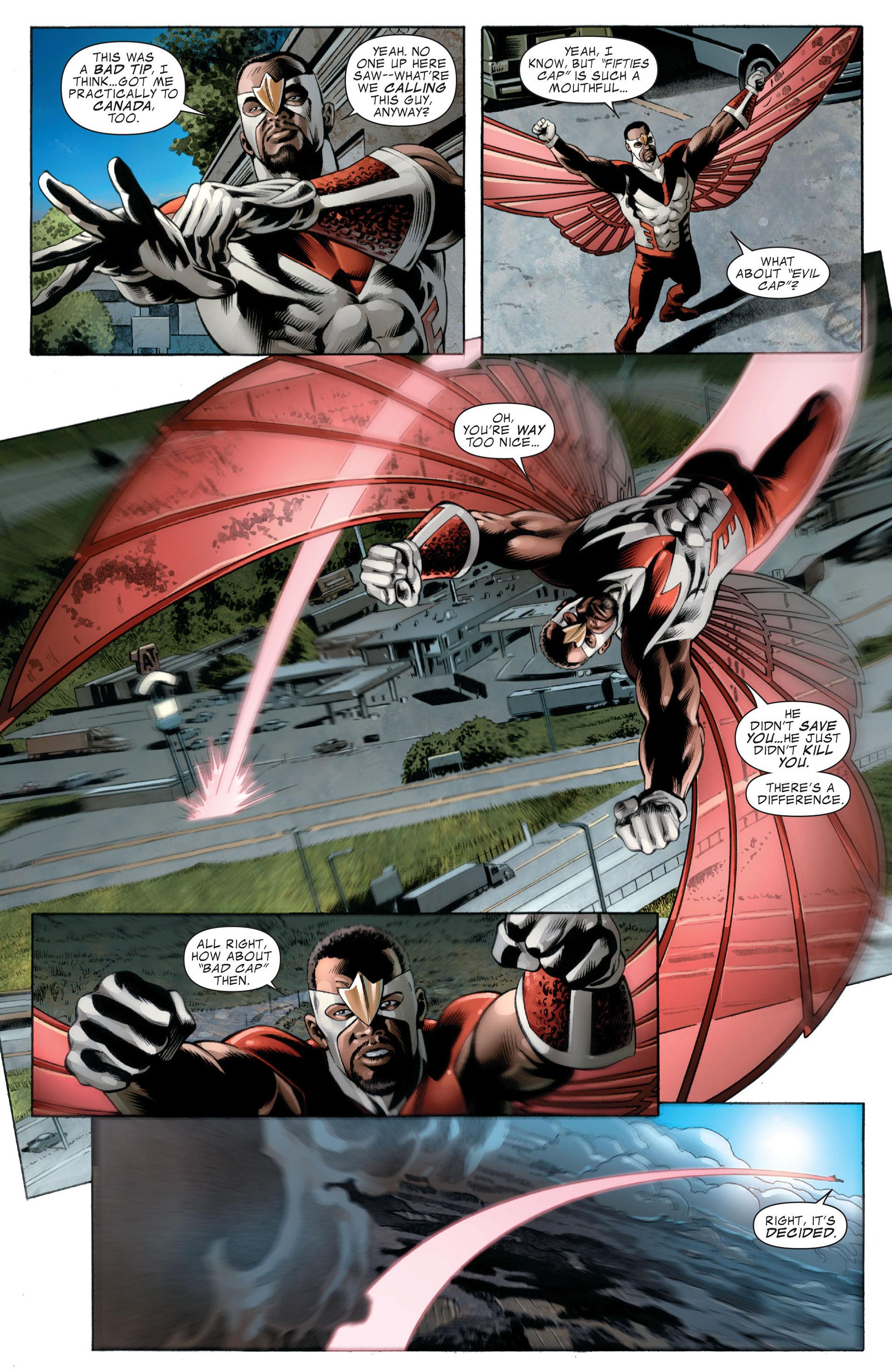 Read online Captain America (2005) comic -  Issue #49 - 12