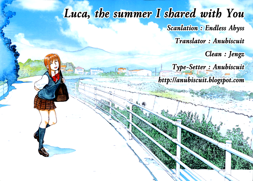 Luca the summer I shared with You 5-Who goes there?