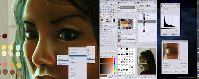 GIMP, 6 Phần mềm thiết kế đồ họa thiết yếu hàng đầu cho dân thiết kế