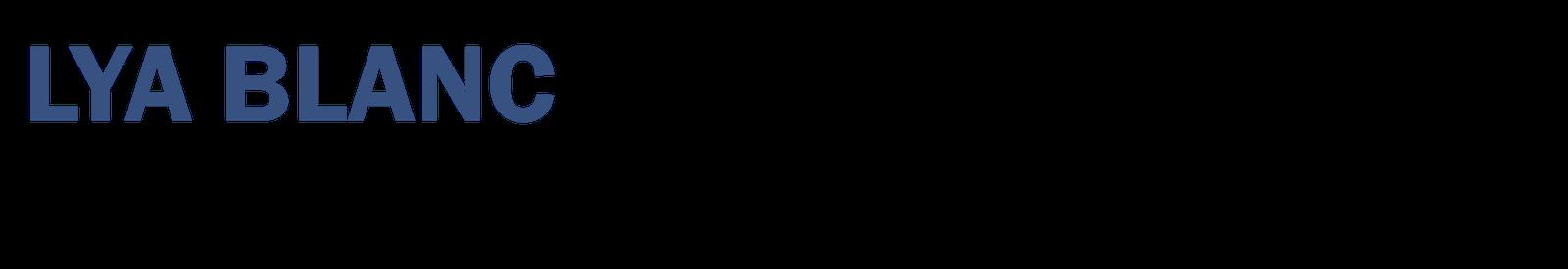 lya blanc  cv