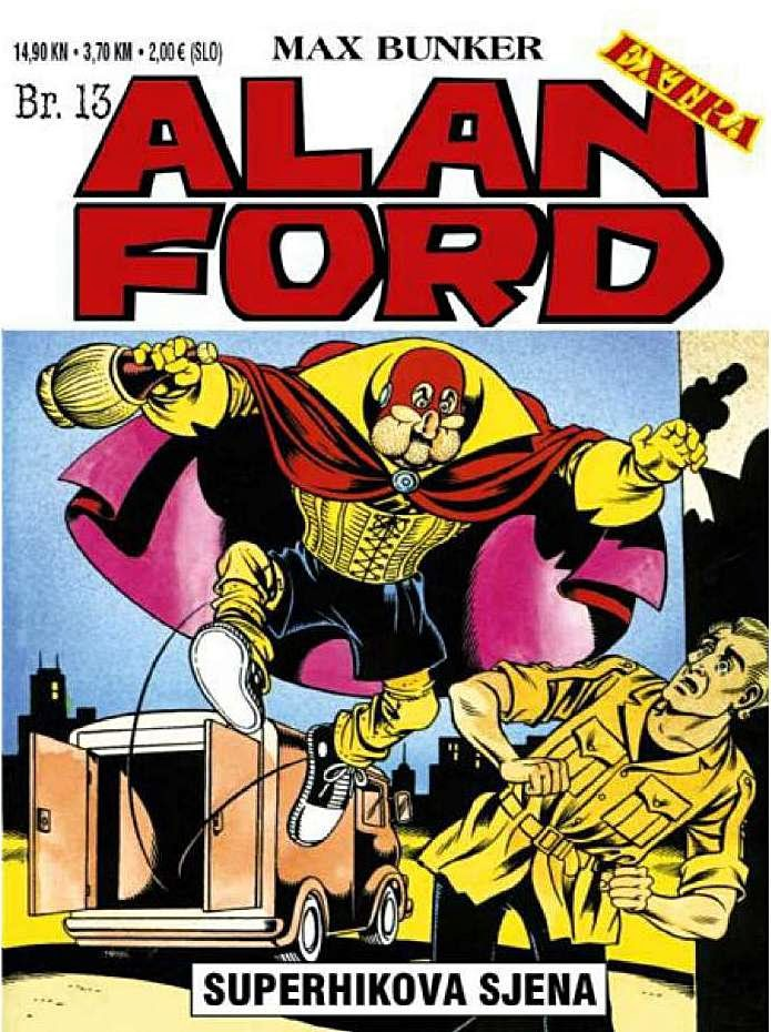 Superhikova sjena - Alan Ford
