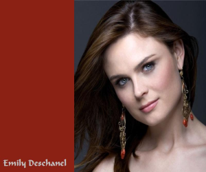 World Info Emily Deschanel Would Be A Baby This Year