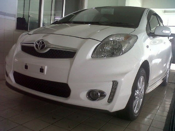 All New Alphard Facelift Grill Grand Veloz Toyota Yaris 2012 - Astra Indonesia