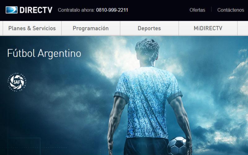 directv pack futbol argentino