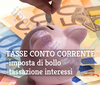 imposta di bollo conto corrente e tasse sugli interessi