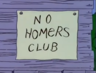 No Homers club