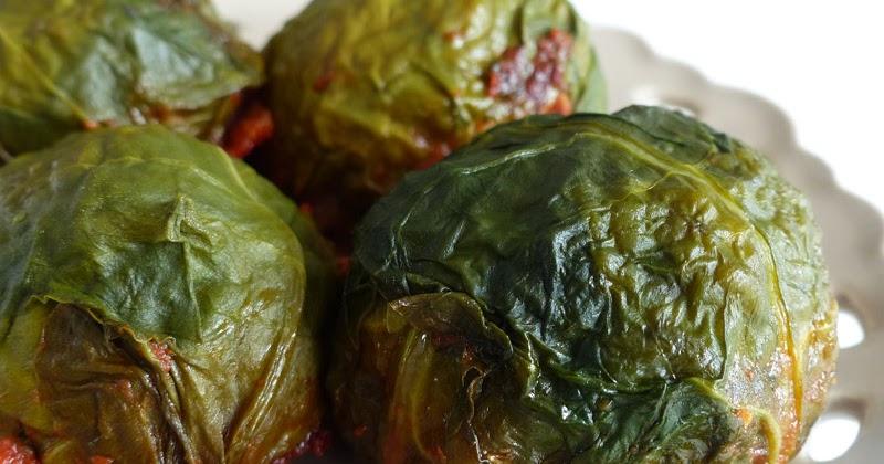 Feuilles de blettes farcies marlyzen cuisine revisit e - Comment cuisiner des feuilles de blettes ...