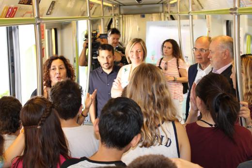 Transporte público gratuito el 22 de septiembre con motivo de la celebración del Día Europeo sin Coche