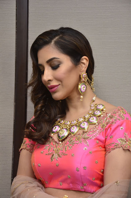 Sophie Choudry dazzles the ramp for Arvind Ampula Coture