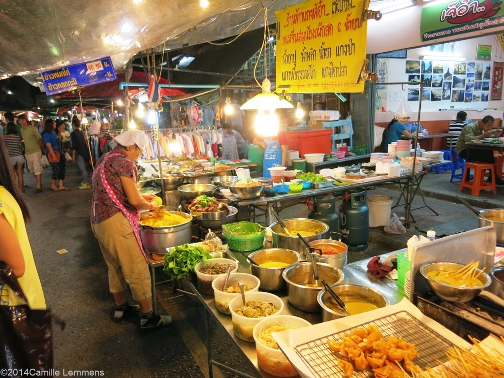 Night market in Surat Thani