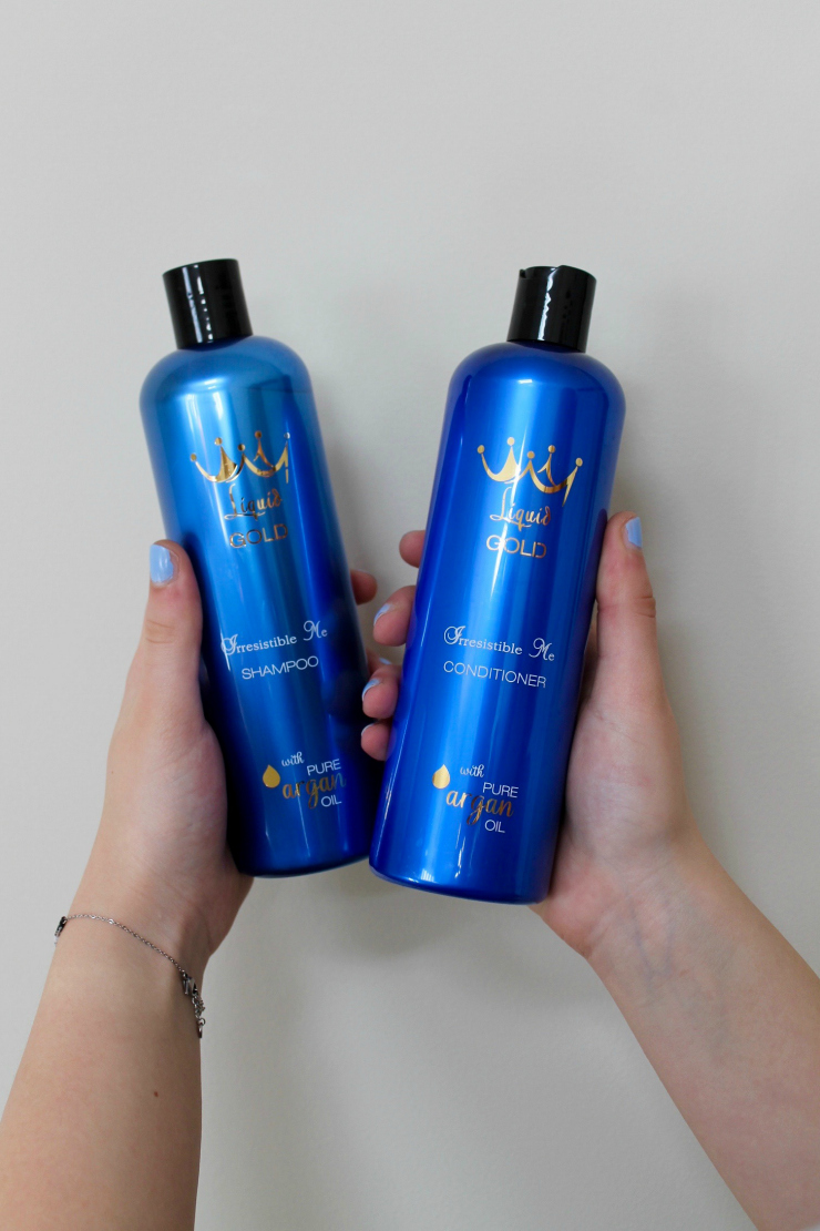 Argan Oil Shampoo and Conditioner by Irresistible Me hair care brand