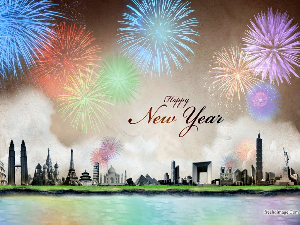 photo trick: happy new year 2012 HD wallpapers