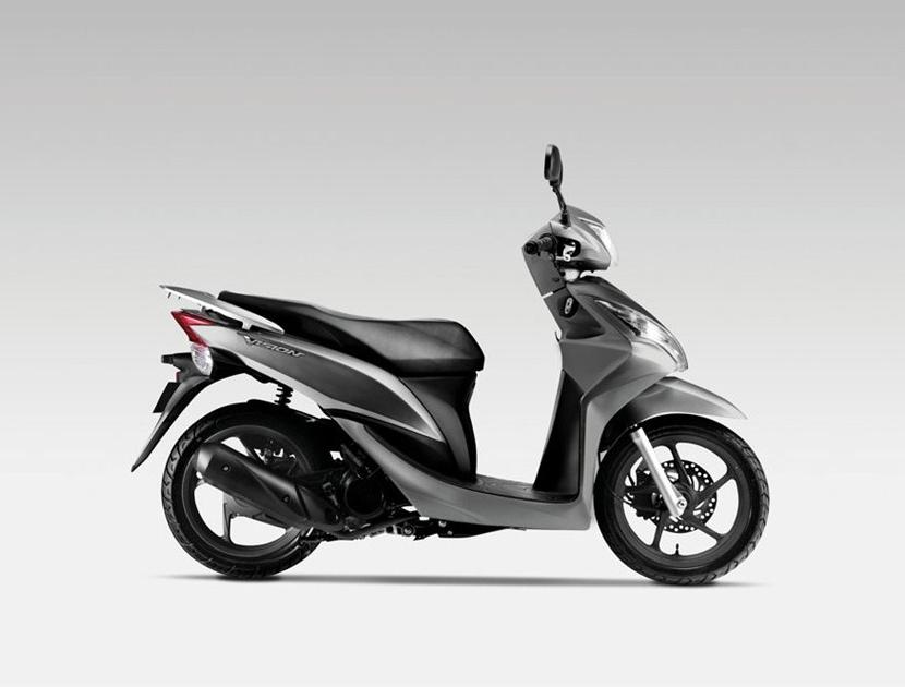 honda vision 110 scooter autoesque. Black Bedroom Furniture Sets. Home Design Ideas