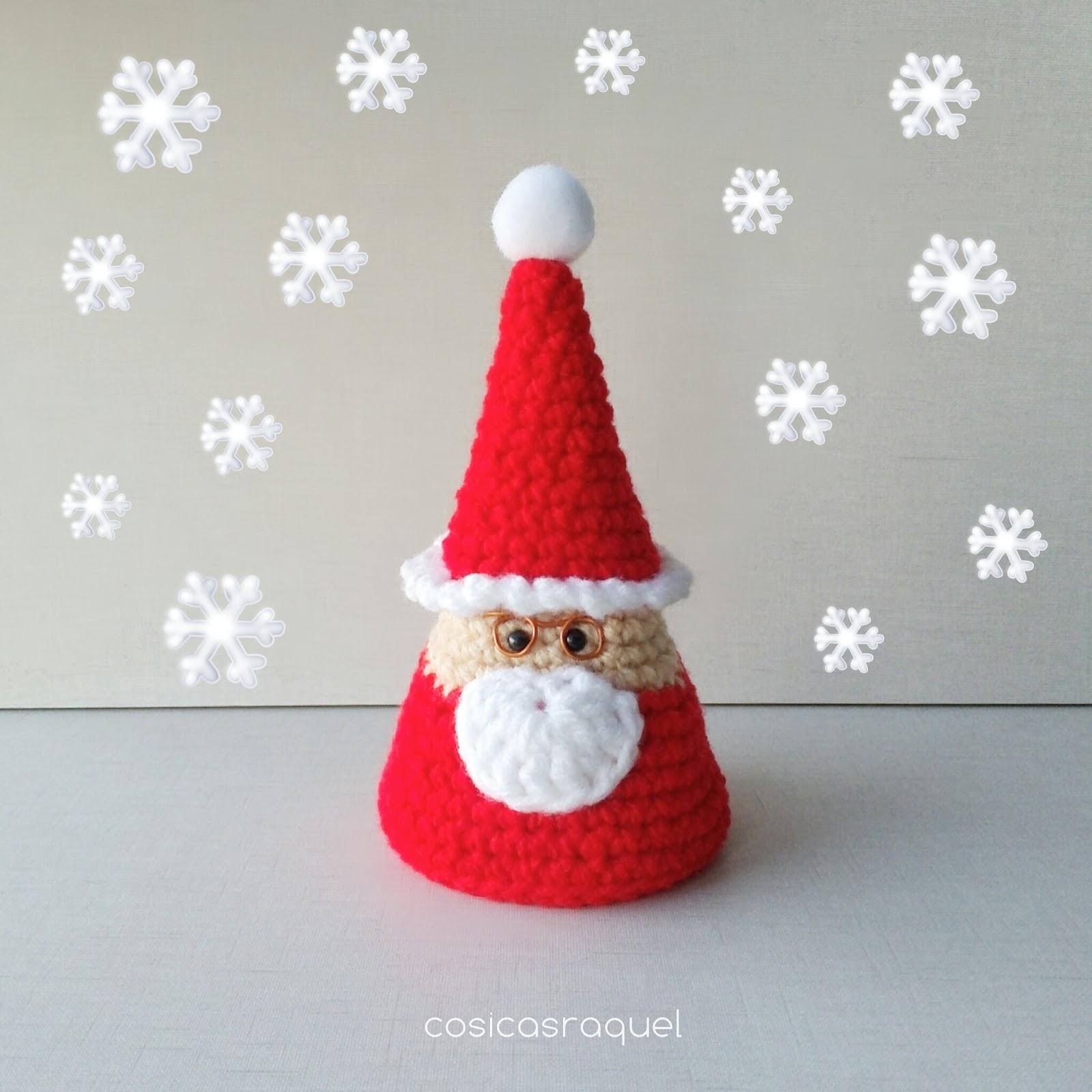 cosicasraquel: Santa Claus Amigurumi