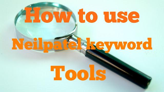 Neil patel keyword tool।Keyword planner.