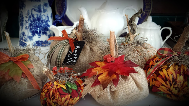 How To Make Your Own Fabric Pumpkins, Living From Glory To Glory Blog