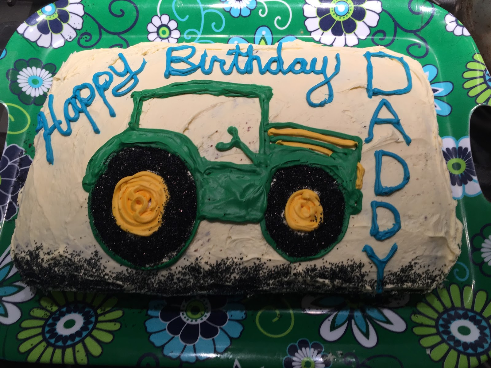 Yellow dog green life happy birthday james cece requested a tractor cake for him we hired a babysitter and went out to sushi and then we woke up to snow happy birthday old man thecheapjerseys Gallery