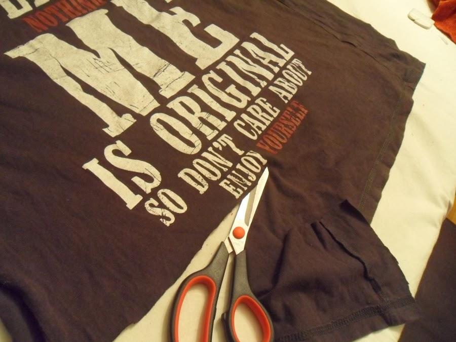 DIY: jersey y camiseta reciclados
