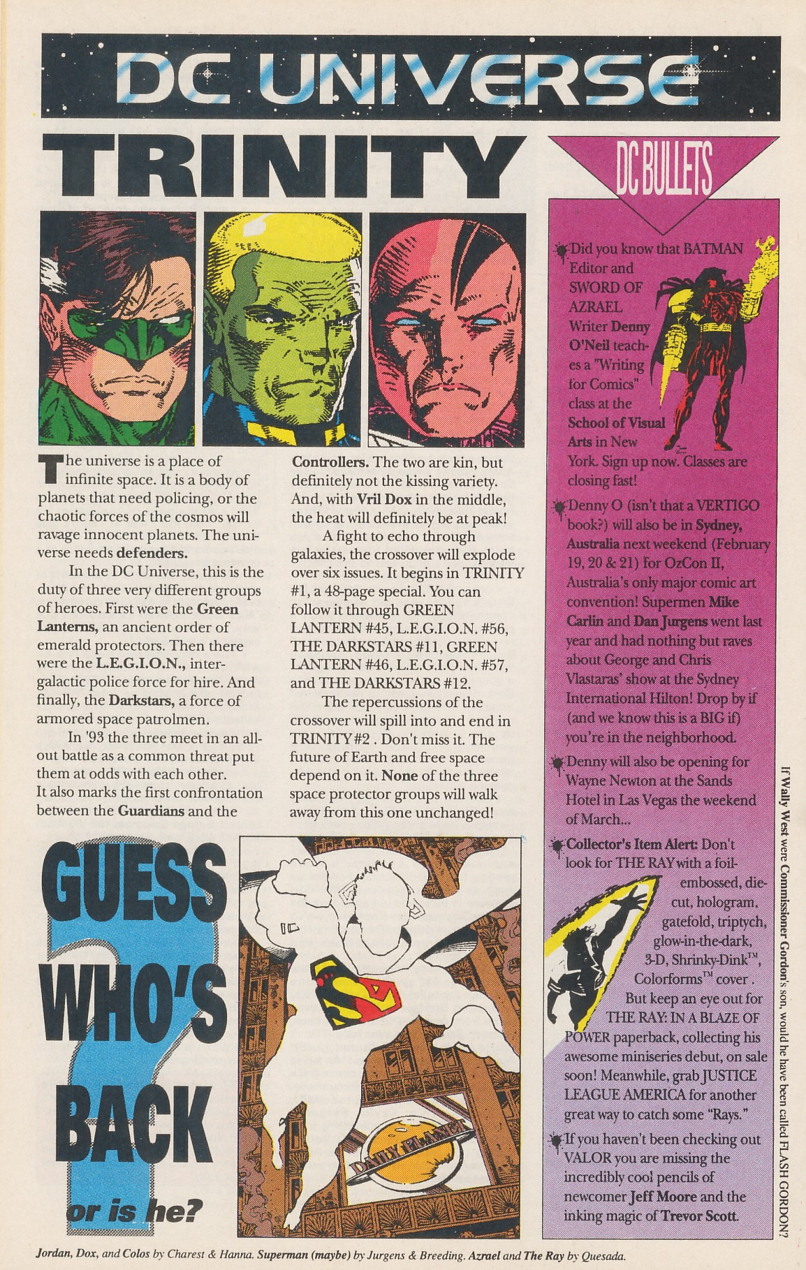 Legion of Super-Heroes (1989) 42 Page 33