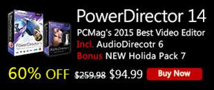 PowerDirector Black Friday