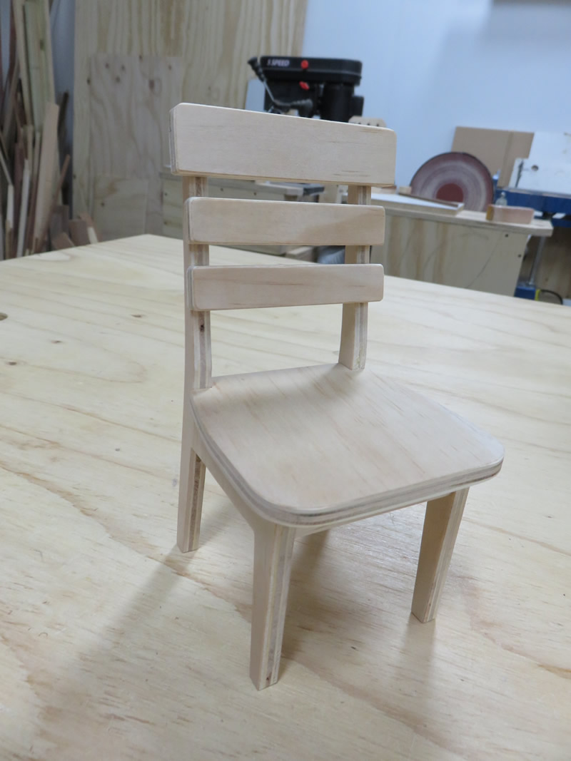 Make miniature furniture Barbie Asked Juno And Got Some American Walnut Which Was Good Texture Drew Chair In Real Size Using Software Viacad And Reduced It Into 16 Scale Bored Panda Pluredro Blog Making Miniature Furniture