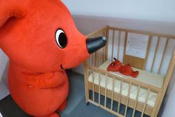 チーバくん、赤ちゃん休憩室開設