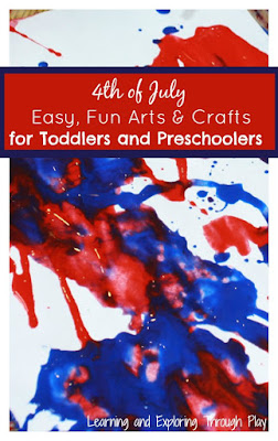 4th of July Arts and Crafts for Toddlers and Preschoolers