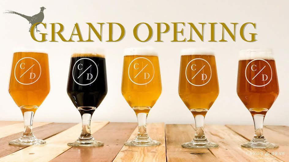 virginia beer blog canon draw brewing opens tomorrow